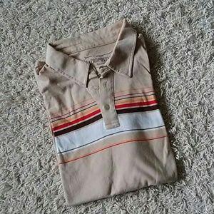 Aeropostale retro style polo shirt